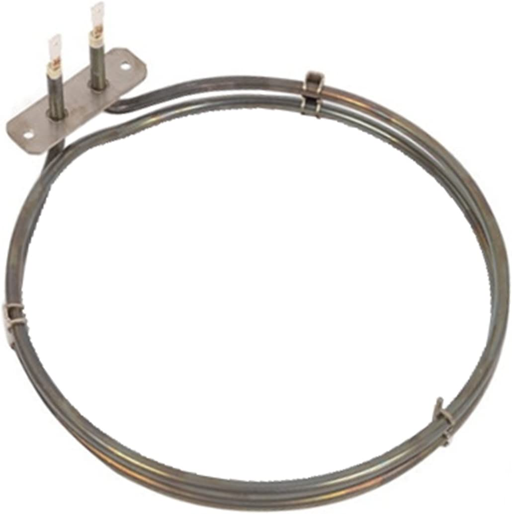 Spares2go 2 Turn Heater Element For Aeg Fan Oven Cookers 2400W