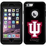 Indiana - Iu design on Black OtterBox Defender Series Case for iPhone 6 Plus and iPhone 6s Plus