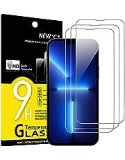 """NEW'C 3 pack, Skärmskydd Med iPhone 13 Pro Max (6,7"""") – Härdat Glas HD klar 9H hårdhet bubbelfritt"""