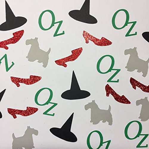 Wizard of Oz Confetti - Party Decor, Table Decor, Invitations ()
