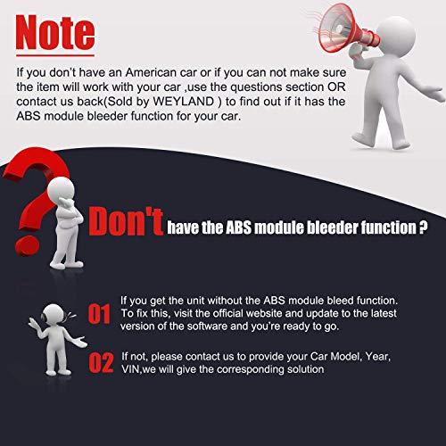 Autel MaxiCheck Pro Diagnostic Tool for ABS Brake Auto Bleed, Oil Service, ABS, SRS, BMS, DPF, EPB Service, SAS, Oil Light/Service Reset Scanner by Autel (Image #2)