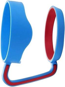 Cdrox Coupe Standard Universel 30oz Tasses Porte-Main en Plastique Coupes de Bouteille deau Portable Poign/ée