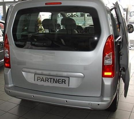 Geriffelte Kofferraumwanne für Peugeot Partner 2 Facelift Kleinbus 2012-5Sitze