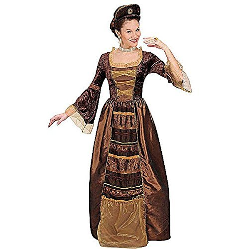 Ladies Baroque Baroness Costume Extra Large UK 18-20 for Wild West Saloon Girl Moulin Rouge Fancy Dress by WIDMANN (Wild West Saloon Girl Costume)