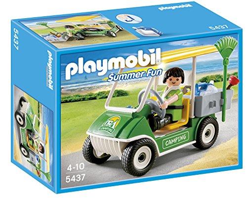 Golf Cart Replica - PLAYMOBIL Camping Service Cart Playset