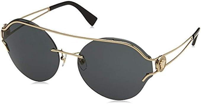 Versace 0VE2184, Gafas de Sol para Mujer, Marrón (Bordeaux ...