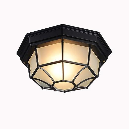 Lámpara LED de techo, lámpara de techo europea de aluminio ...