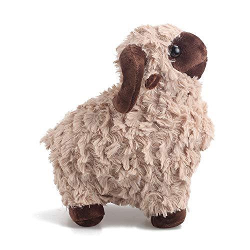 (LUCKSTAR Lamb Plush Doll - 10'' Creamy Cute & Soft Sheep Stuffed Animal Goat Toys - Perfect Chrismas & Birthday Gift for Children or Girlfriend)