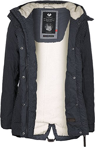 W Ragwear Minidots Parka Blu Laika EpqX6qngwH