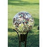 Carson, Multi Flowers 10'' Gazing Ball