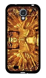 Gold Colored Buddha - Phone Case Back Cover (Galaxy S4 - Plastic) wangjiang maoyi by lolosakes