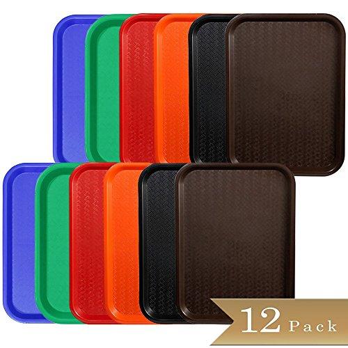 Plastic Fast Food Tray - 5