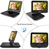 ZESTYI Portable DVD Player for Kids with Car