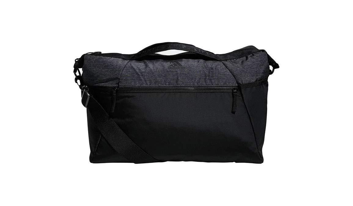 adidas Studio III Duffel, Black/Black Jersey, One Size