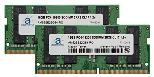 Adamanta 32GB (2x16GB) Memory Upgrade for Apple iMac 2017 27
