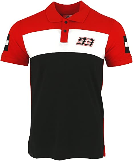 Marc Marquez 93 Moto GP Panel camisa polo Oficial 2017: Amazon.es ...