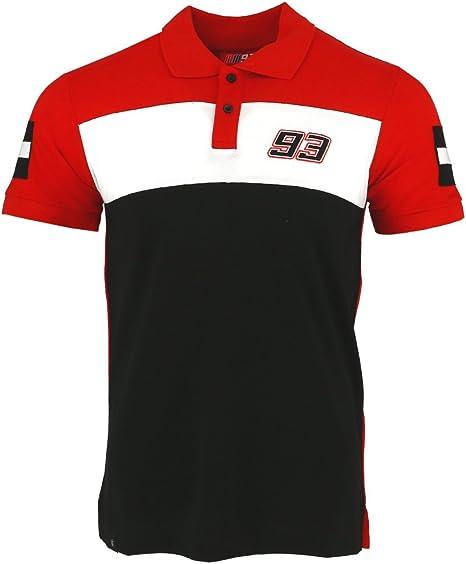 Marc Marquez 93 Moto GP Panel camisa polo Oficial 2017: Amazon.es ...