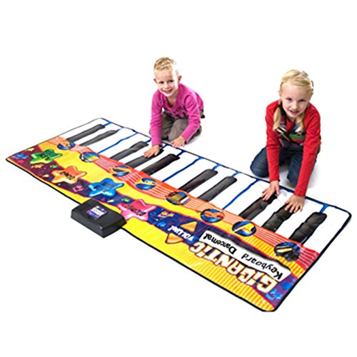 Ginzick Kids Giant Piano Fun Dance Mat - Kids Fun Carpet