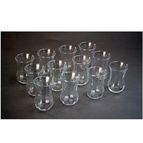 ToCi Pasabahce Optik - Juego de 12 vasos de te t