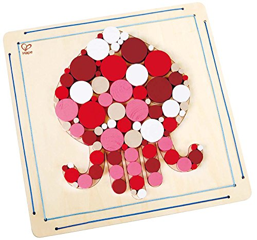 Hape Octopus Wooden Mosaic Crafts product image