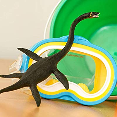 Safari Ltd Wild Safari Elasmosaurus – Realistic Individually Hand-Painted Toy Figurine Model – Quality Construction from Phthalate and Lead-Free Materials – For Ages 3 And Up: Toys & Games
