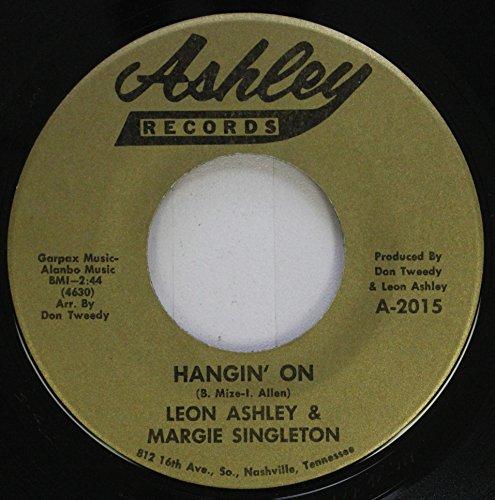 Ashley Clock (Leon Ashley & Margie Singleton 45 RPM Hangin'' On / Four O''Clock)