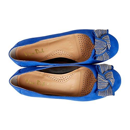 Ballerines Bleu Cobalt Meriwether Blue Van Dal waqxA0raT