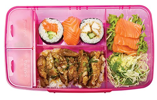 sistema lunch collection bento box for food storage multicolor. Black Bedroom Furniture Sets. Home Design Ideas