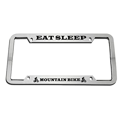 My other car is a MOUNTAIN BIKE License Plate Frame
