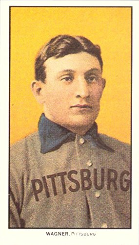 1909 T206 Honus Wagner Tobacco Reprint Baseball Card for sale  Delivered anywhere in USA