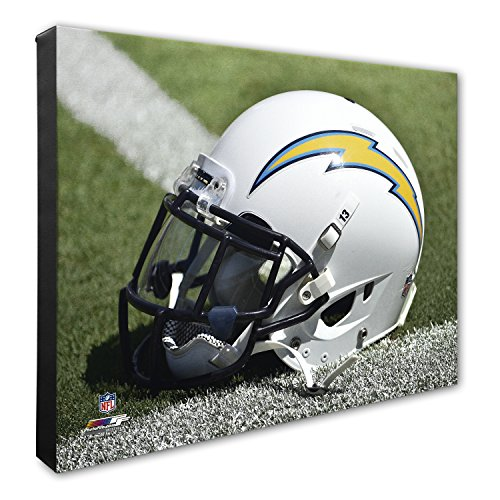 - NFL San Diego Chargers Beautiful Gallery Quality, High Resolution Canvas, 16