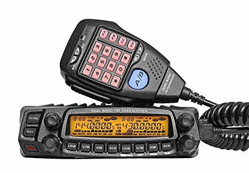 AnyTone Dual Band Transceiver VHF/UHF AT-5888UV Two Way and Amateur Radio ()