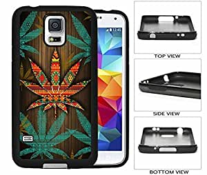 Weed Fabric Galaxy S5 Rubber (TPU) Back Case