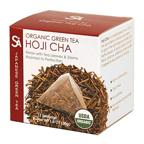 SA Japanese Green Tea Organic Tea, Hoji Cha, 1.95 Ounce by SA Japanese Green Tea