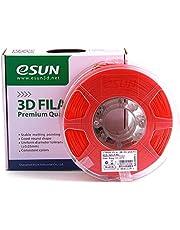 Decdeal PLA+ 1.75mm Red 3D Printer Filament Corn Grain Refining Material 1KG Spool (2.2lbs) Dimensional Accuracy +/- 0.05mm Consumables