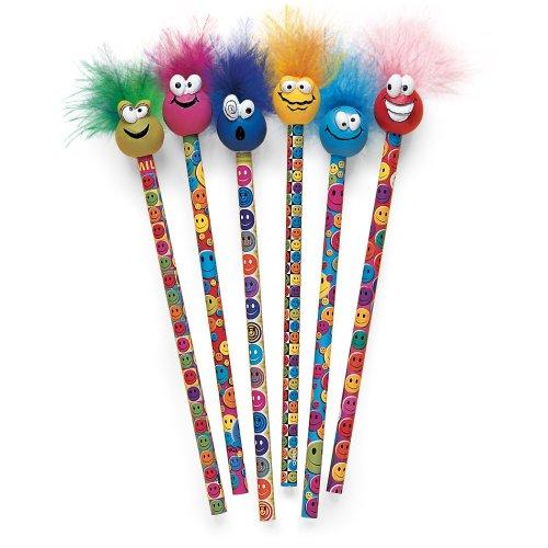 Geddes Miles O'Smiles Tip Topz Pencils - Set of -