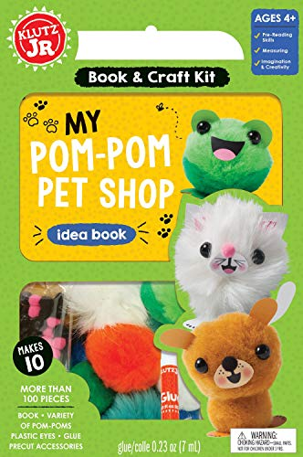 Klutz KLZ815956 Jr Pom Pet ()