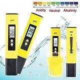 Portable Digital PH Meter Tester, Pocket Size Aquarium Pool Water Wine Urine LCD Pen Monitor