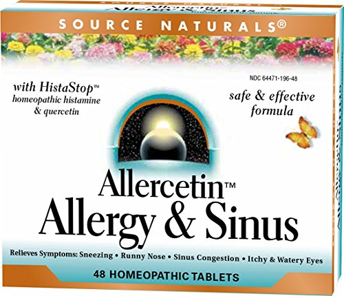 Source Naturals, Allercetin Allergy Sinus, 48 Tablets