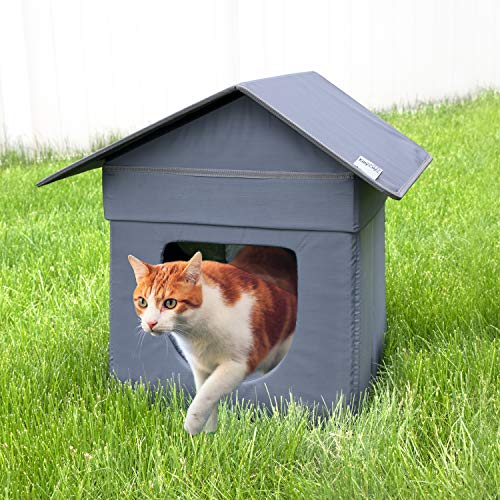 Kitty City Large is the best Outdoor Cat House? Our review at cattime.com uncovers all pros and cons.