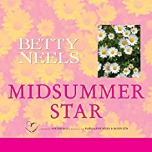 Midsummer Star Audiobook by Betty Neels Narrated by Karen Cass