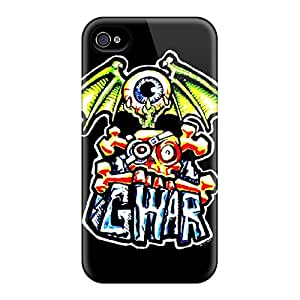 Iphone 4/4s GmG15377BBEa Allow Personal Design HD Gwar Pattern Great Cell-phone Hard Cover -CharlesPoirier