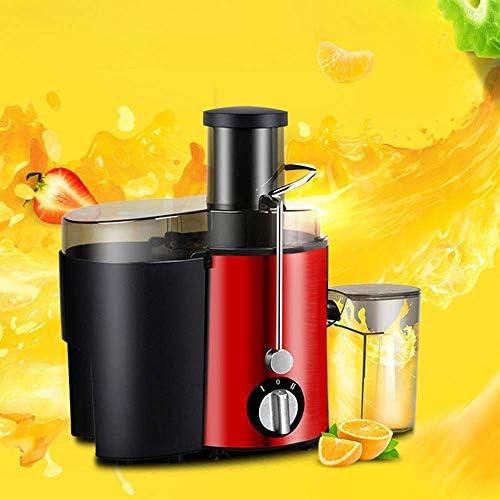 zyl Presse-Agrumes pour Fruits et légumes Entiers Acier Inoxydable 2 Modes de Vitesse Bouche Large sans BPA métallique