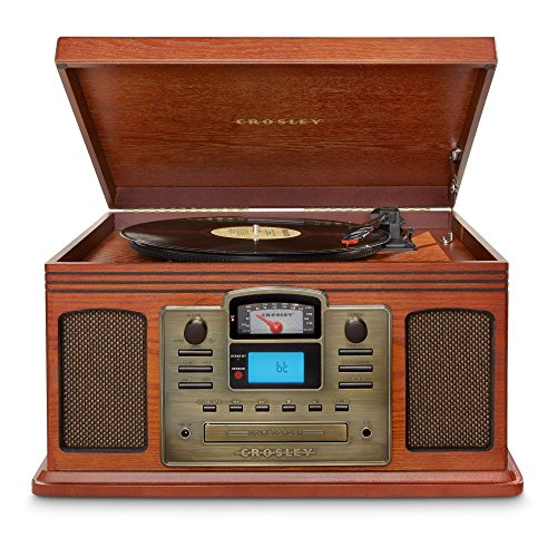 Crosley Director CD Recorder with Bluetooth