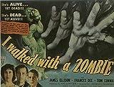 I Walked With a Zombie POSTER Movie (1943) Style D 11 x 17 Inches - 28cm x 44cm (Frances Dee)(Tom Conway)(James Ellison)(Christine Gordon)(Edith Barrett)(Darby Jones)(Sir Lancelot)