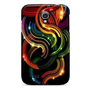 New Style Dreaming Your Dream Color Curves Premium Tpu Cover Case For Galaxy S4