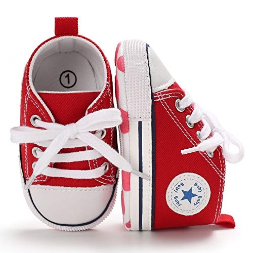 Sneaker Anti Slip Newborn Walkers Canvas product image