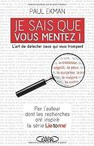 [R.E.A.D] Je sais que vous mentez ! (French Edition) [D.O.C]