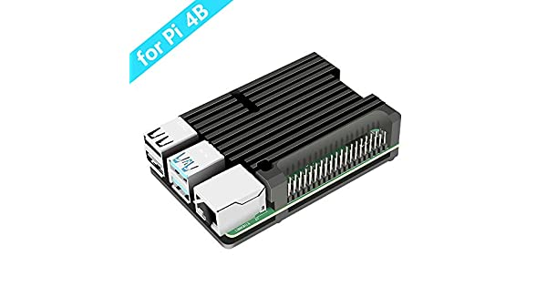 Amazon.com: Dorhea Raspberry Pi 4 4B Heavy Metal Case ...