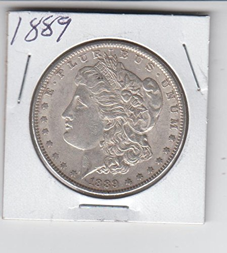 1889 Morgan Silver Dollar Coin - Circulated $1 Extremely Fine